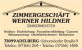 Zimmerei Hildner Adelberg
