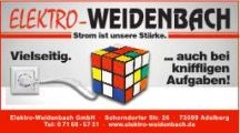 Elektro Weidenbach